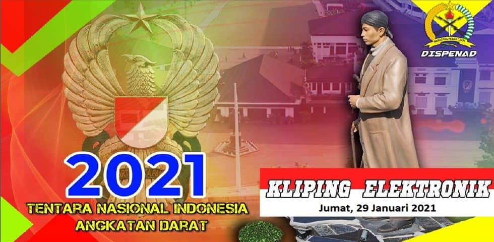 KLiping Elektronik Jumat, 29 Januari 2021