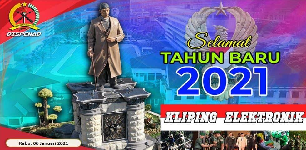 Kliping Elektronik Rabu, 6 Januari 2021
