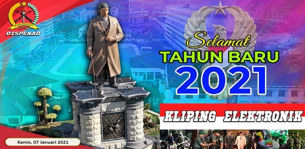 Kliping Elektronik Kamis, 7 Januari 2021