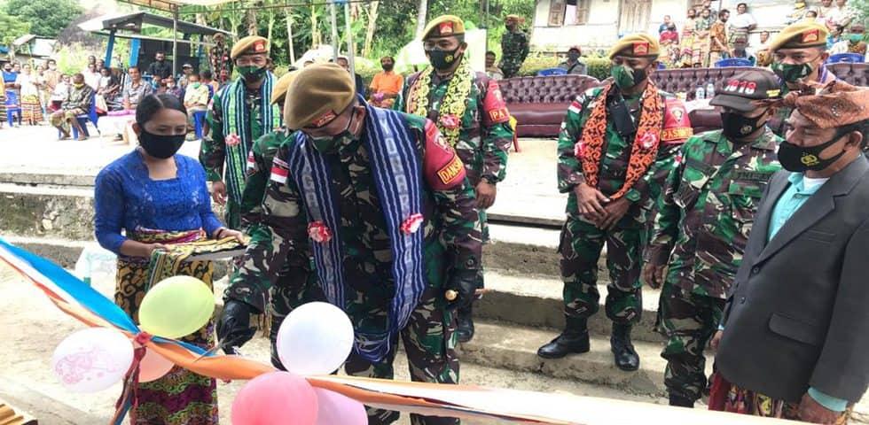 Satgas Yonarmed 3/105 Tarik, Wujudkan Impian Masyarakat Desa Fatuneno