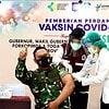 Danrem 162/WB Bersama Forkopimda NTB Vaksin Covid-19