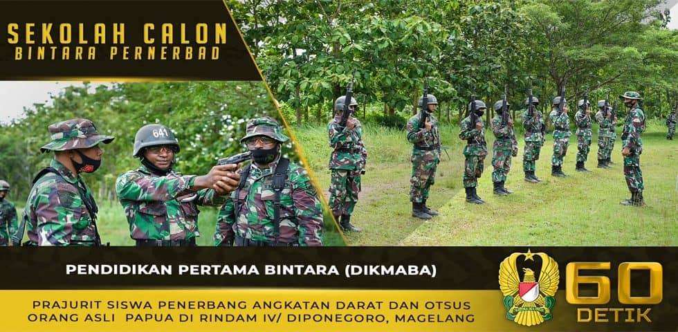 Pendidikan Pertama Bintara Prajurit Siswa Penerbang Angkatan Darat dan Otsus Orang Asli Papua