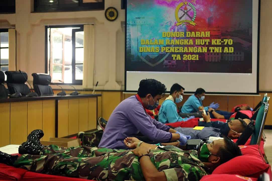 Dispenad Donor Darah Untuk Kemanusiaan