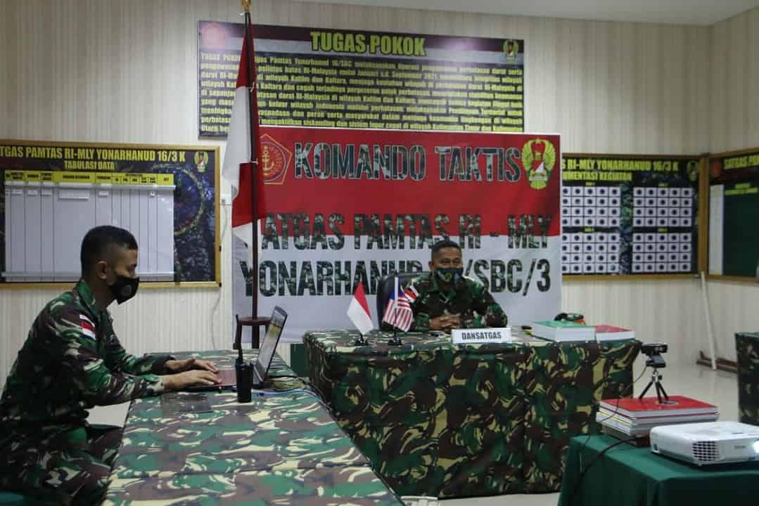 Satgas Yonarhanud 16 Siap Dukung Penanganan Masalah Perbatasan dan Bencana Alam di Nunukan