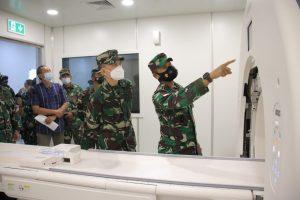 Pangdam XII/TPR Tinjau Fasilitas MRI dan CT Scan Rumkit Kartika Husada