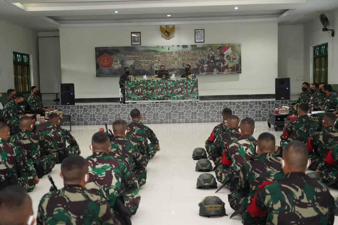 Asops Panglima TNI Nyatakan, Yonif 742/SWY Siap Tugas Pamtas RI-RDTL