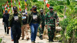 Rangkul Komunitas Otomotif , Kodiklat TNI AD Gelar Baksos di Cikelet Garut