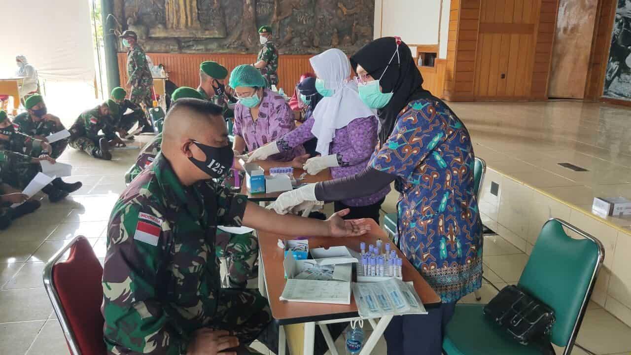 Purna Tugas, Personel Satgas Yonif 125/Si'mbisa Jalani Pemeriksaan Kesehatan