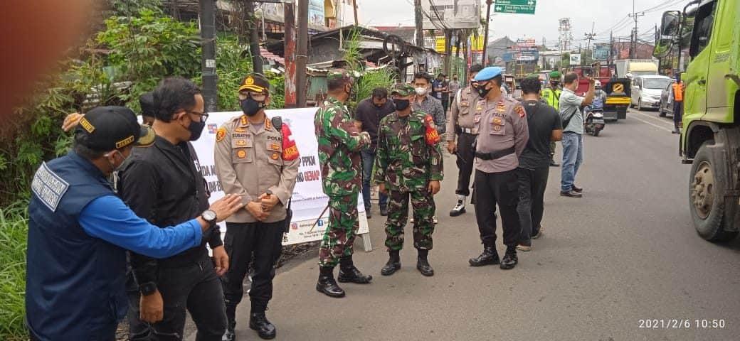 Cegah Penyebaran Covid-19, Danrem 061/SK Dukung Pemberlakuan Ganjil-Genap di Wilayah Bogor