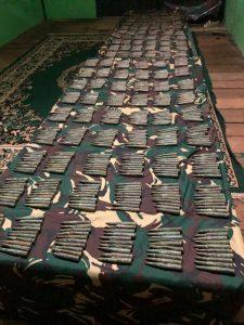 Satgas Yonarhanud 16/SBC Amankan Ribuan Munisi Kaliber 7,62 Milimeter