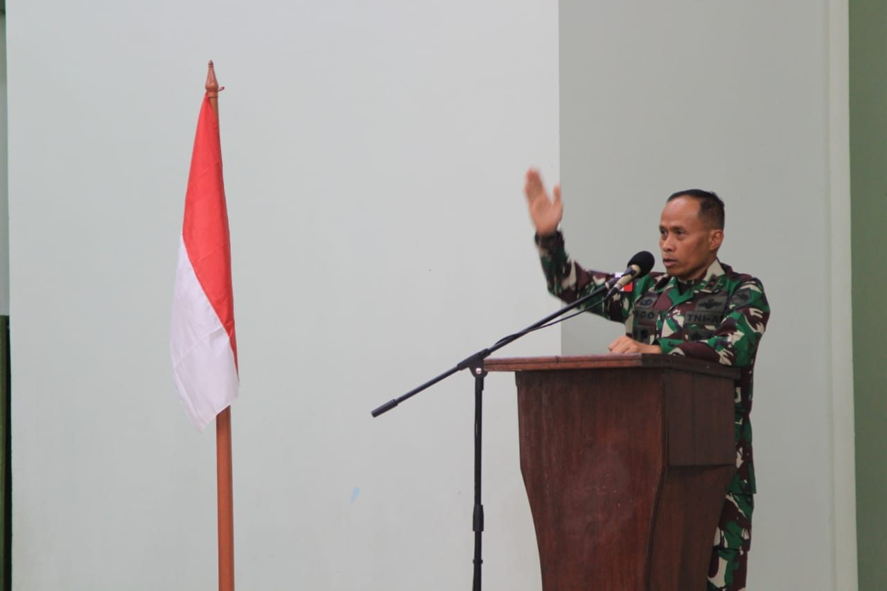 Satukan Visi Pengabdian, Pangdam XVII/Cen Kunker di Jajaran Korem 173/PVB