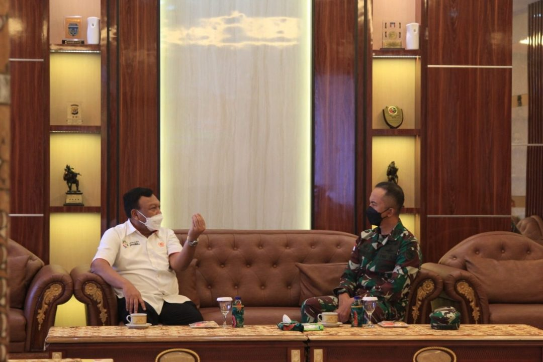 Sukseskan PON XX Tahun 2021 Di Papua, KONI Pusat Bersinergi Dengan Kodam XVII/Cenderawasih