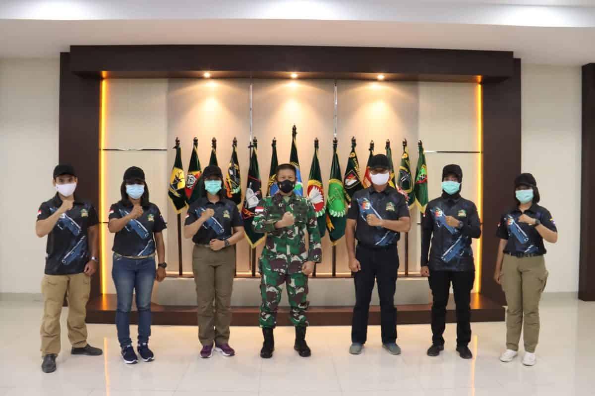 Pangdam XII/TPR Berangkatkan Petembak Tanjungpura Army Shooting Club Ikuti Lomba Tembak di Boyolali