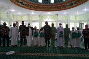 Jumat Berkah, Danrem 061/SK Baksos Santuni Anak Yatim di Wilayah Bogor