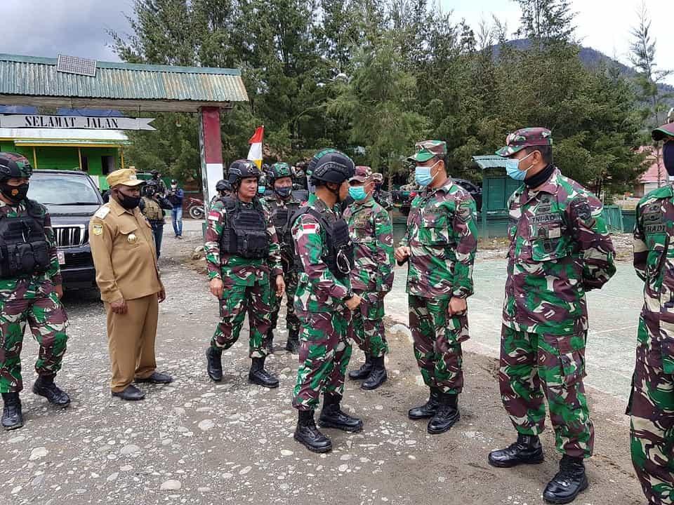 Pangdam XVII/Cenderawasih Kunjungi Kodim dan Satuan TNI di Pegunungan Papua