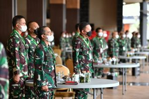 TNI Angkatan Darat Gelar Rapat Pimpinan TA.2021