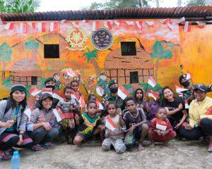 Satgas Yonif PR 432 Kostrad Wujudkan Tempat Belajar dan Bermain Anak-Anak Papua