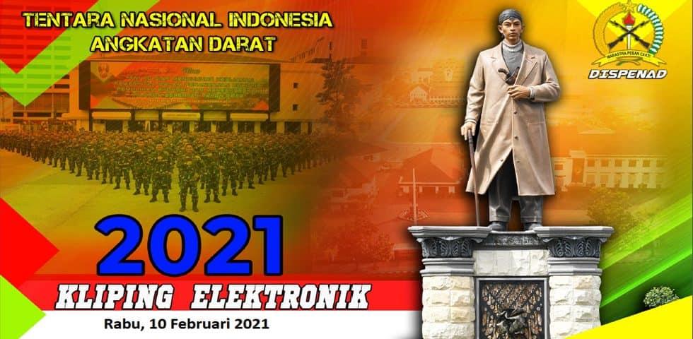 Kliping Elektronik Rabu, 10 Februari 2021