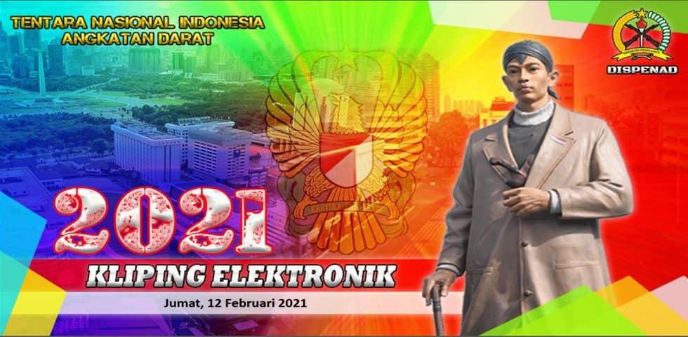 Kliping Elektronik Jumat, 12 Februari 2021