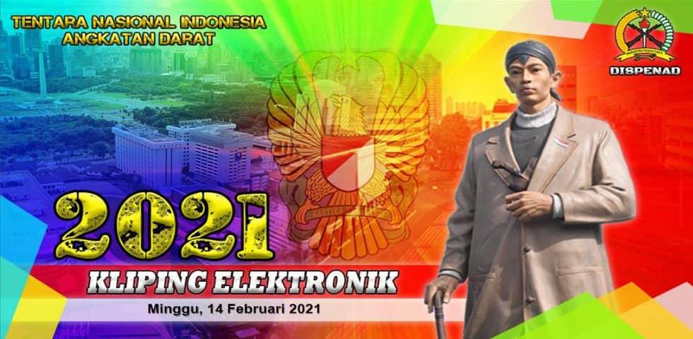 Kliping Elektronik Minggu, 14 Februari 2021
