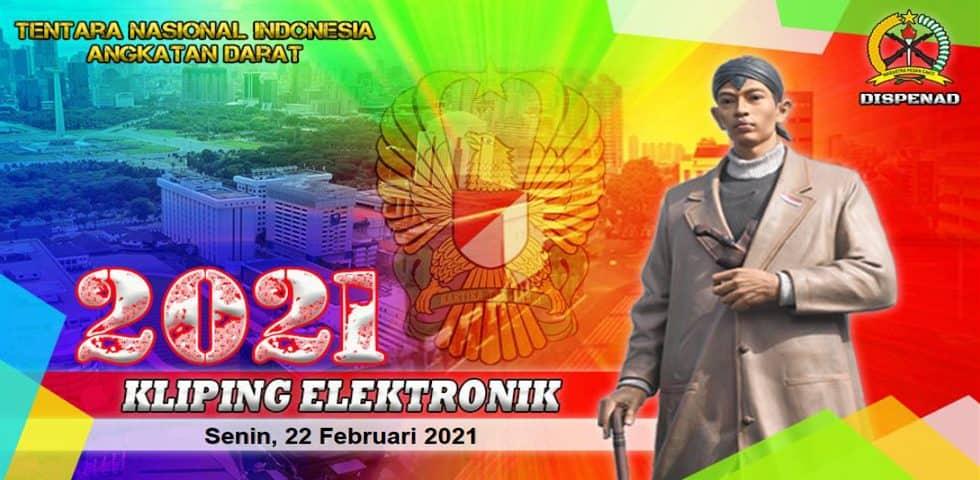 Kliping Elektronik Minggu, 21 Februari 2021