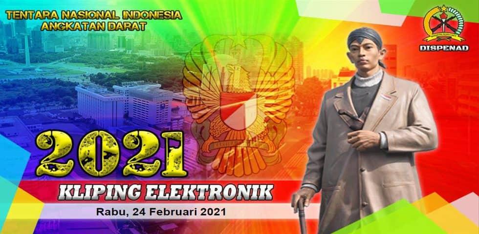 Kliping Elektronik Rabu, 24 Februari