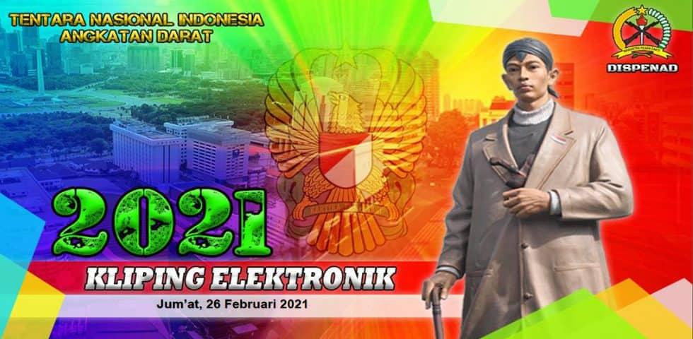 Kliping Elektronik Jumat, 26 Februari 2021
