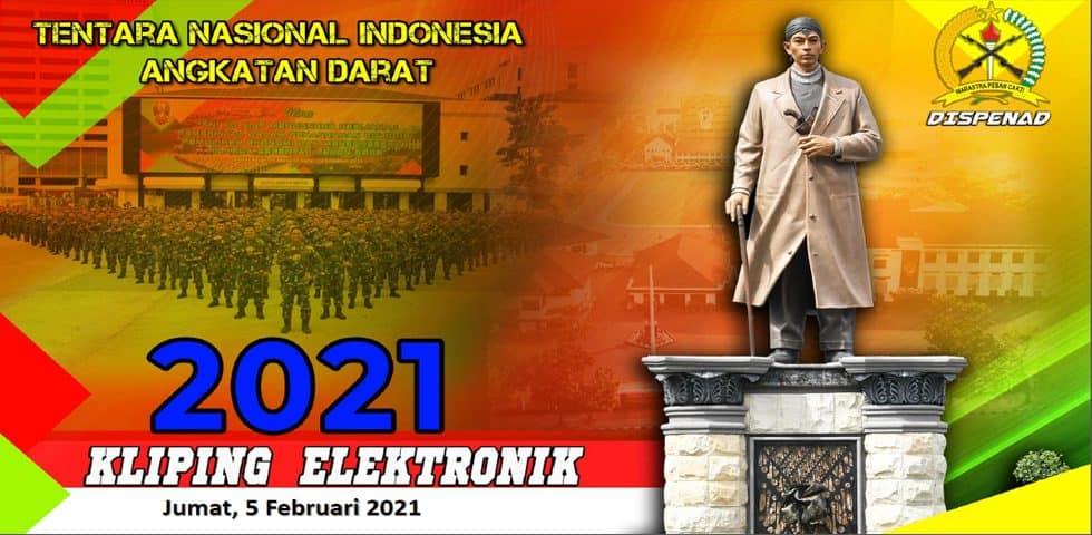 Kliping Elektronik Jumat, 5 Februari 2021
