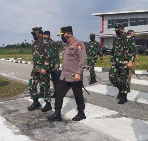 Pangdam XIII/Merdeka Terima Kunker Panglima TNI dan Kapolri
