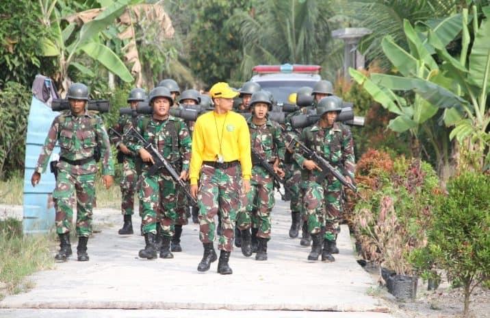 Yonif 126/KC Laksanakan Progbinjas Kesiapan Tugas Operasi
