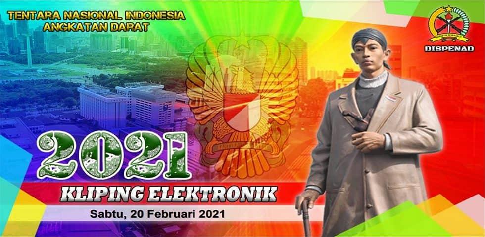 Kliping Elektronik Sabtu, 20 Februari 2021