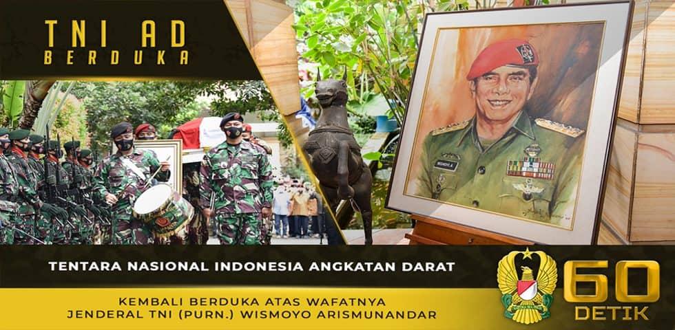 TNI AD Kembali Berduka Atas Wafatnya Jenderal TNI (Purn) Wismoyo Arismunandar