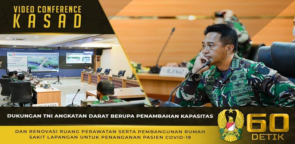 Dukungan TNI AD Berupa Penambahan Kapasitas dan Renovasi Ruang Perawatan Serta Pembangunan RS Lapangan Untuk Kebutuhan Pasien Covid-19