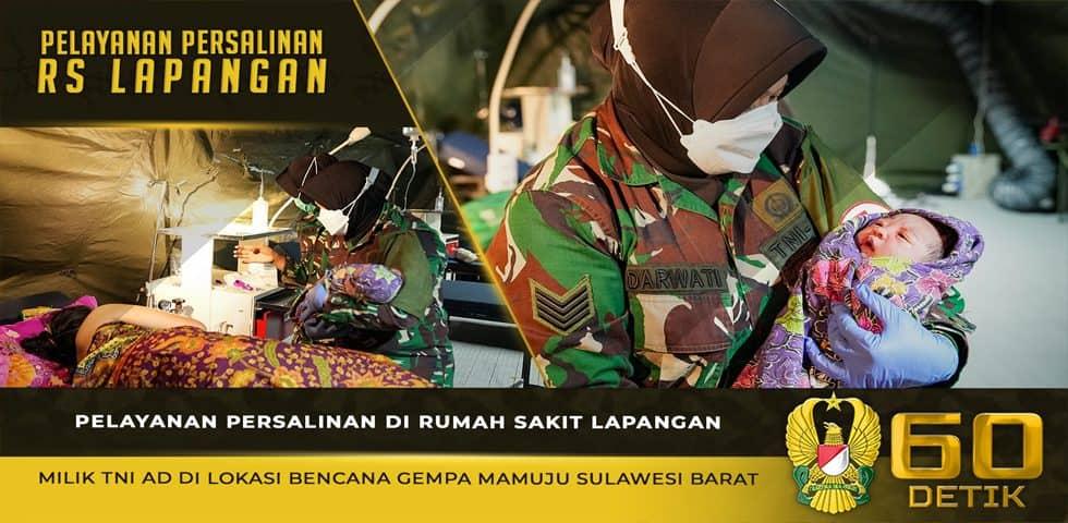 Pelayanan Persalinan di Rumah Sakit Lapangan TNI AD Mamuju Sulawesi Barat