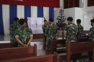 Satgas Yonif Para Raider 432 Kostrad, Bersihkan Gereja Mapenduma
