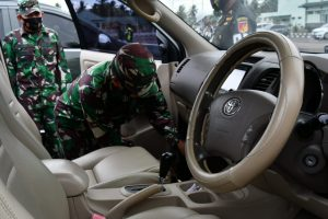 Cegah Pelanggaran dan Kecelakaan Lalu Lintas, Korem 133 Gelar Pemeriksaan Randis