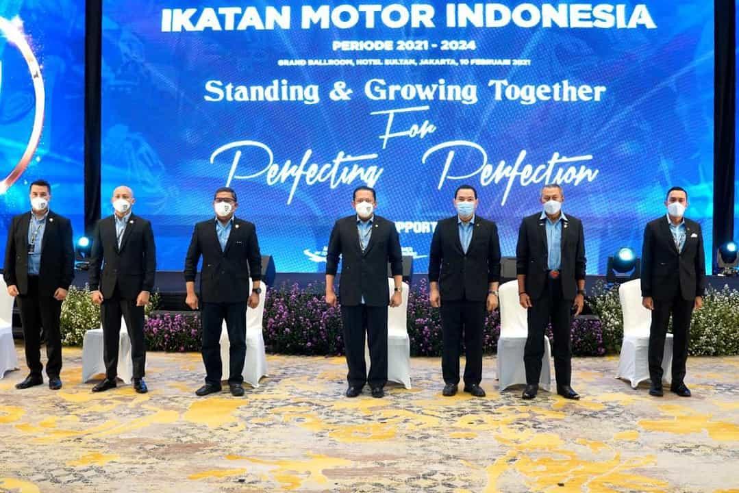 Letjen TNI AM. Putranto, S.Sos, Resmi Jabat Ketua Badan Pembina IMI