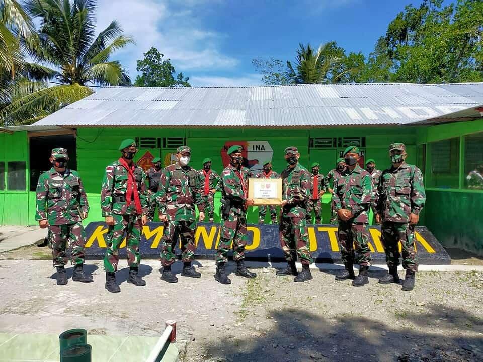 Kunjungan Kerja Tim Wasops Mabesad Pada Jajaran Satgas Yonif 734/SNS