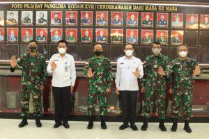 Pangdam XVII/Cenderawasih Terima Kunjungan Kerja Kepala BNN Papua