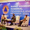Danrem 162/WB Nara Sumber Rakornas BNPB Tahun 2021