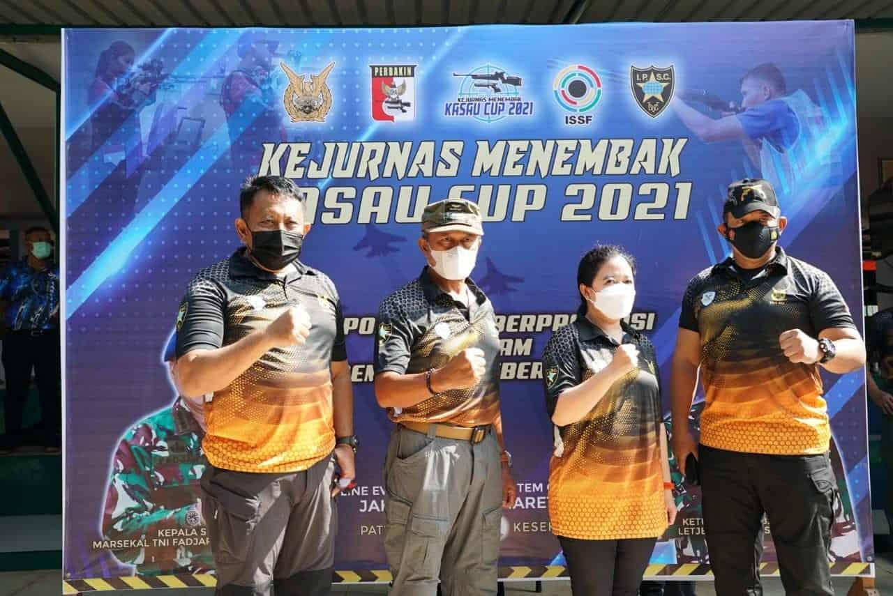 Danpuspomad Raih Predikat Petembak Tebaik Kedua Pada Kejurnas Kasau Cup 2021