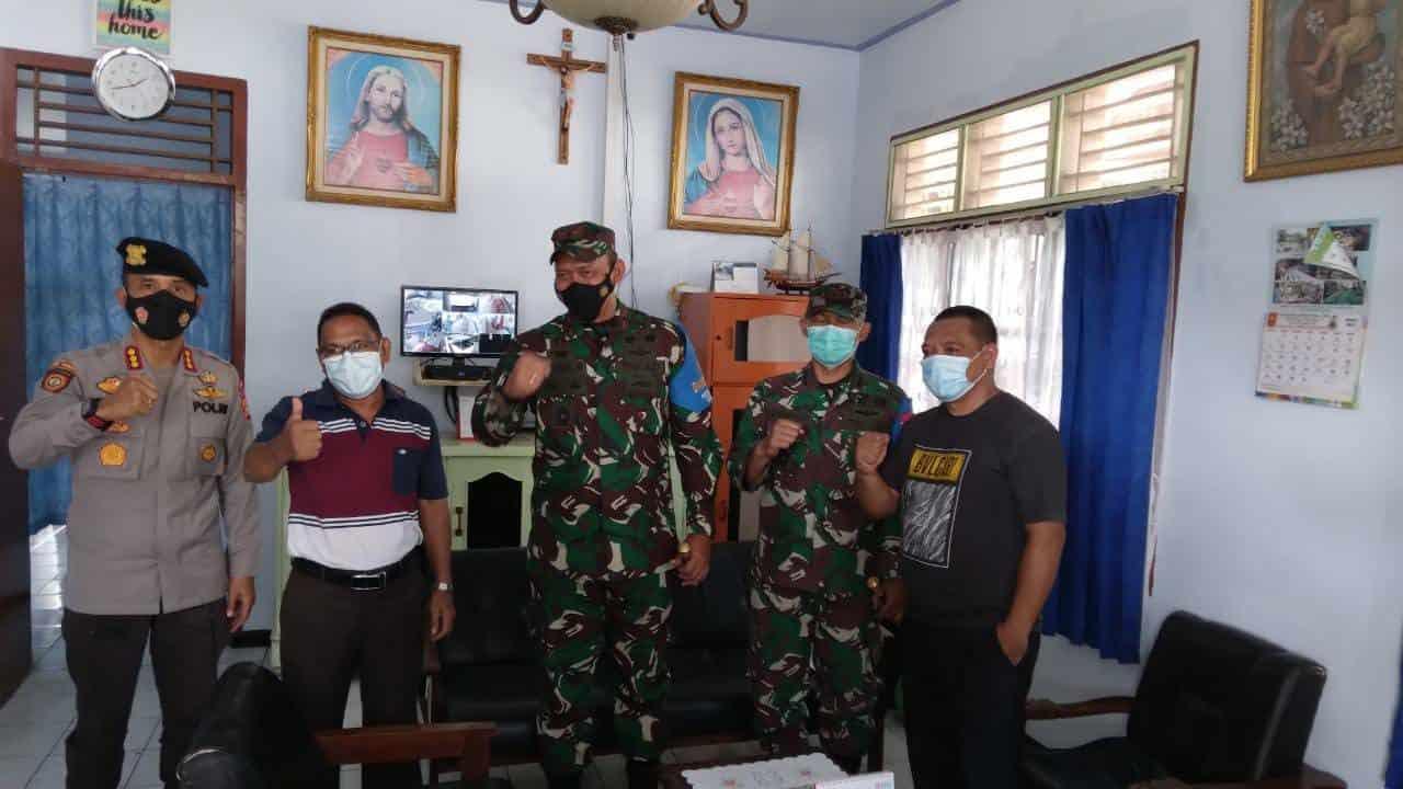 Antisipasi Aksi Teror, Jajaran Korem 162/WB Patroli Bersama Polri