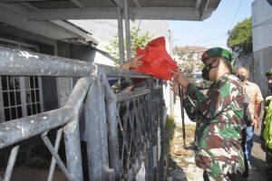 Jalani Isolasi Mandiri, Danrem 061/SK Sambangi Ibu Gita Beri Bantuan