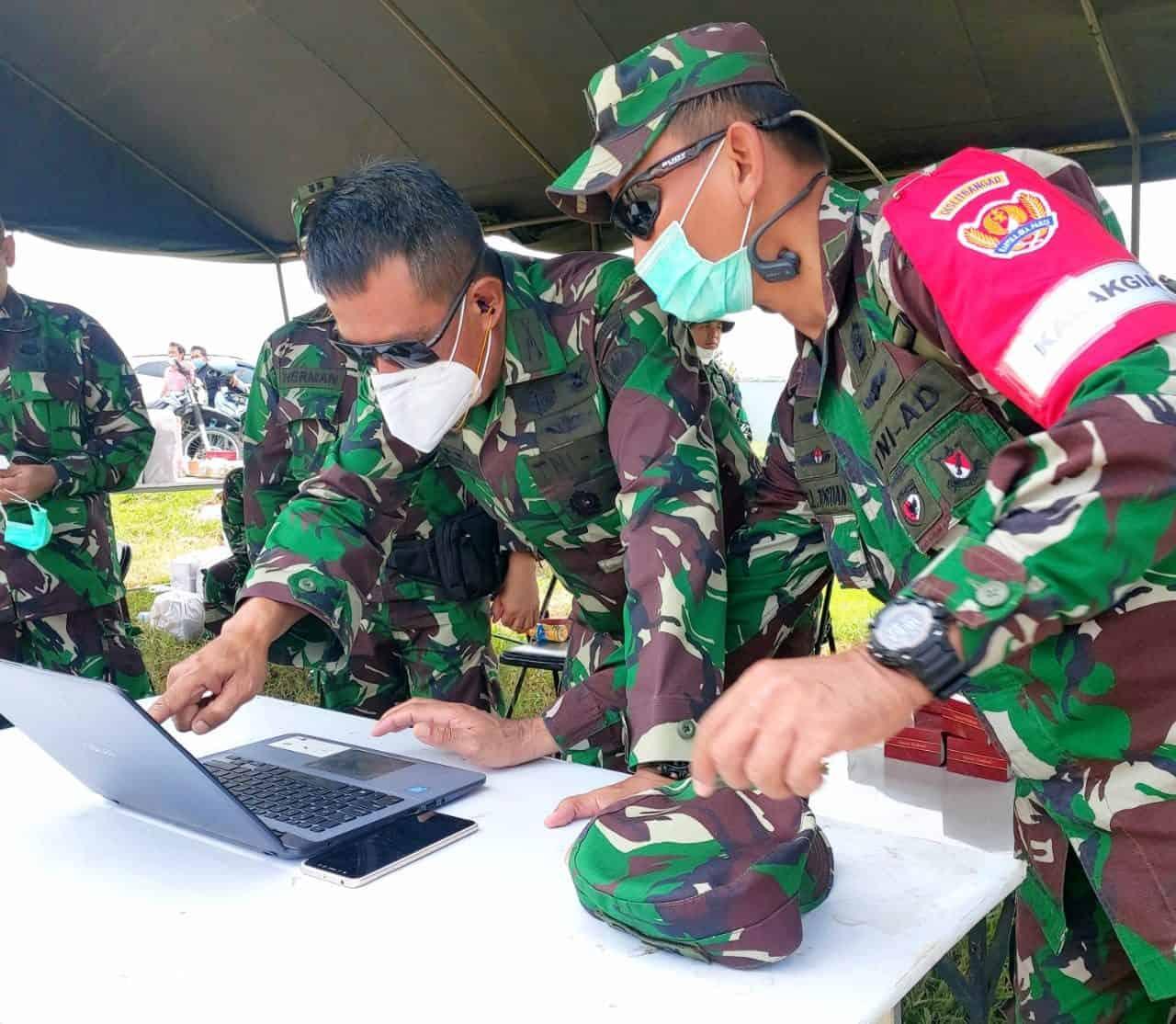 Dislitbangad Uji Coba Gunshot Detection System