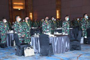 Kadispenad Pimpin Rakernispen TNI AD TA. 2021, Berharap Kinerja Penerangan TNI AD Semakin Profesional