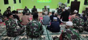 Satgas Yonif 742 Peringati Isra Miraj Bersama Anak Panti Asuhan Atambua