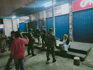 Tegakkan Protokol Kesehatan, Kodim Jayapura Gelar Patroli Yustisi Gabungan