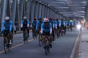Tour De Aruk G310K, Pangdam XII/Tpr Pimpin Gowes Menuju Tapal Batas RI-Malaysia