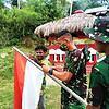 Awali Tugas Di Papua, Satgas Yonif 131 Disambut Hangat Warga Muara Tami