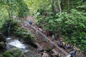 Danrem 162/WB Tinjau Pembangunan Pompa Hidram di Lombok Utara